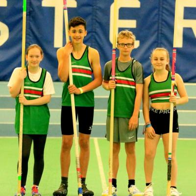 Pole Vaulters At Sportcity Ydl