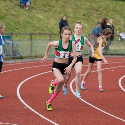 Thea Brown Lily Olsdale U13g Relay
